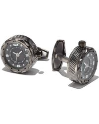 Jan Leslie - Sterling Silver Watch Cuff Links - Lyst