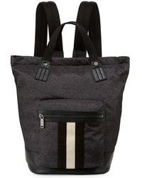 Bally - Crowley Nylon Tote-backpack With Stripe - Lyst