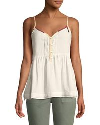 The Great - The Adobe Cotton Camisole - Lyst