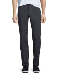 Ermenegildo Zegna - Men's Cotton-blend Straight-leg Pants - Lyst