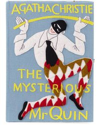 Olympia Le-Tan - The Mysterious Mr. Quin Book Clutch Bag - Lyst