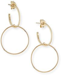 Lana Jewelry - Fifteen 14k Double-hoop Earrings - Lyst