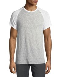ATM - Men's Raglan-sleeve Baseball T-shirt - Lyst