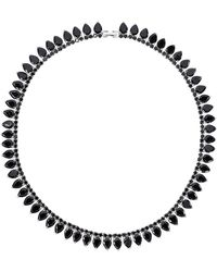 Fallon - Monarch Pointed Choker Necklace - Lyst