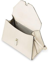 Valextra   Iside Mini Leather Satchel Bag   Lyst