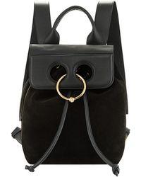 JW Anderson - Pierce Mini Leather Backpack - Lyst