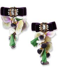 Ranjana Khan - Pearl Sands Clip-on Dangle Earrings - Lyst