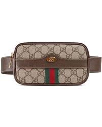 38eff7ce5 Gucci - Ophidia GG Supreme Canvas Belt Bag - Lyst