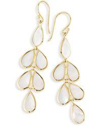 Ippolita - 18k Rock Candy Mother-of-pearl Teardrop Earrings - Lyst