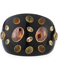Ashley Pittman - Dola Dark Horn Cuff Bracelet - Lyst