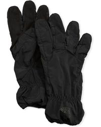 Stone Island - Men's Faux-suede Gloves - Lyst