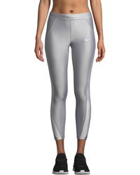 Nike - Speed 7/8 Mid-rise Running Tights - Lyst