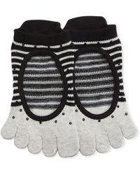 ToeSox - Ballerina Shimmy Full Grip Toe Socks - Lyst