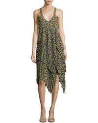 A.L.C. - Kendall Printed Handkerchief Dress - Lyst