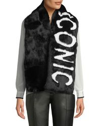 Eugenia Kim - Colden Iconic Two-tone Fur Scarf - Lyst