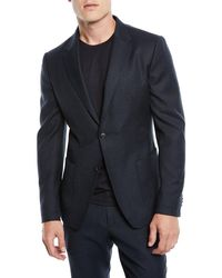 Z Zegna - Men's Micro-check Wash/go Two-piece Suit - Lyst