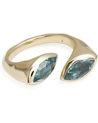 Ippolita - 18k Prisma Bypass Marquise Ring - Lyst