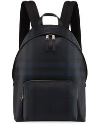 Burberry - Men's Abbeydale Check Backpack - Lyst