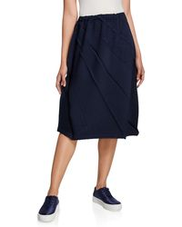 Issey Miyake - Swell Pleats Skirt - Lyst