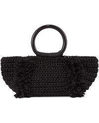 Carolina Santo Domingo - Corallina Wool Ring-handle Tote Bag - Lyst