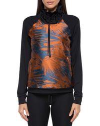 Koral - Roulette Funnel-neck Printed Sweatshirt - Lyst