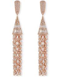 Fallon - Monarch Deco Tulle Earrings - Lyst