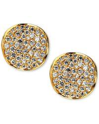 Ippolita - Stardust Diamond Stud Earrings - Lyst