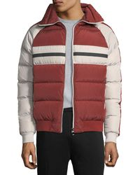 Zegna Sport - Quilted Zip-front Down Jacket - Lyst