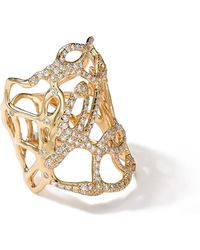 Ippolita - 18k Gold Drizzle Ring With Diamonds - Lyst