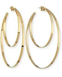 Jennifer Zeuner - Zuma Double Hoop Earrings - Lyst