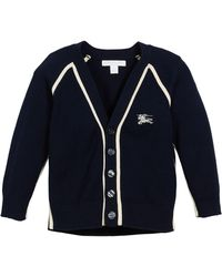 Burberry - Sedrick Two-tone Button-front Cardigan - Lyst