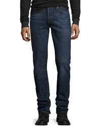 Tom Ford - Slim-fit Selvedge Harrison Wash Denim Jeans - Lyst