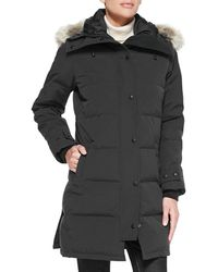 Canada Goose - Shelburne Parka With Fur Hood - Lyst