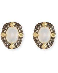 Armenta - Old World Stone Stud Earrings - Lyst