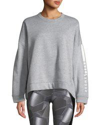 Under Armour - Rival Fleece Oversized Crewneck Sweatshirt - Lyst