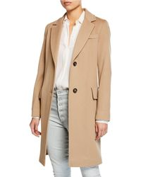Fleurette - Wool Two-button Tailored Coat - Lyst