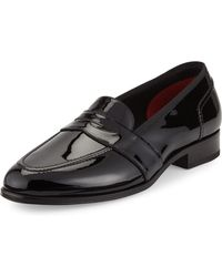 Tom Ford - Taylor Patent Leather Penny Loafer - Lyst