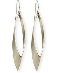 Auden - Talon Marquis Hoop Earrings - Lyst