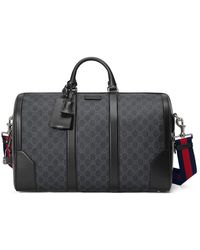 ece8c73a0d5 Gucci - Soft GG Supreme Carry-on Duffle - Lyst