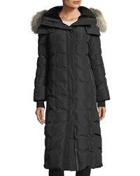 Mackage - Jada Long-sleeve Covered Placket W/ Fur Hood - Lyst