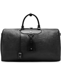 MCM - Nomad Coated Large Leather Weekend Bag - Lyst