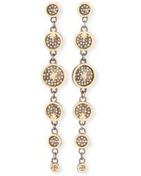 Armenta - Old World Diamond Multi-disc Drop Earrings - Lyst