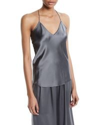 Theory - Satin Camisole - Lyst