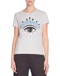 KENZO - Icon Eye-print Classic Short-sleeve T-shirt - Lyst