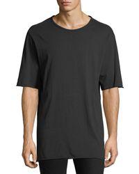 Hudson Jeans - Men's Crewneck Elongated T-shirt - Lyst