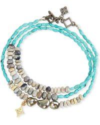 Armenta - Old World Triple-wrap Pearl - Lyst