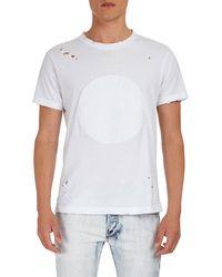 Balmain - Manches Courtes Monnaie Embossed T-shirt - Lyst