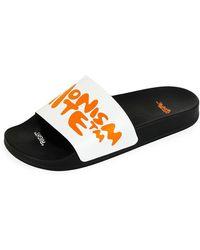 Off-White c/o Virgil Abloh - Men's Impressionism Slider Sandals - Lyst