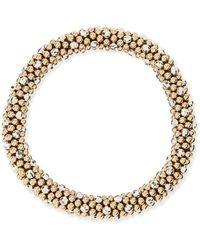 Meredith Frederick - Beth 14-karat Gold And Silver Bead Bracelet - Lyst