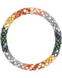 Carolina Bucci - Twister Luxe 18k Gold Medium Rainbow Bracelet - Lyst